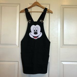 Mickey Mouse Dress Overalls